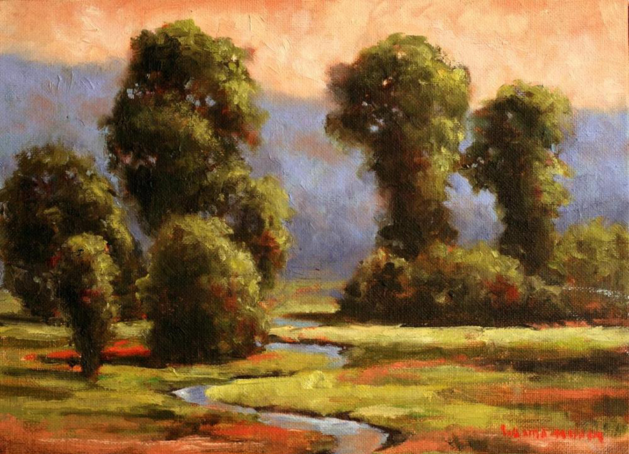 http://wandamumm.com/wp-content/uploads/2016/08/Sunrise-on-Sinclair-Creek-8-x-10-Original-Oil.png